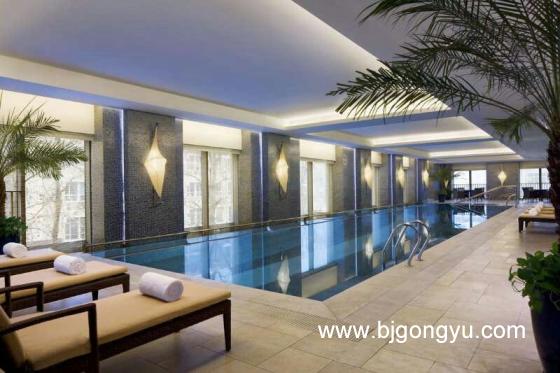 北京紫檀万豪行政公寓游泳池