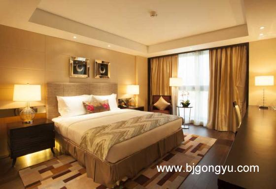 北京丽苑公寓卧室