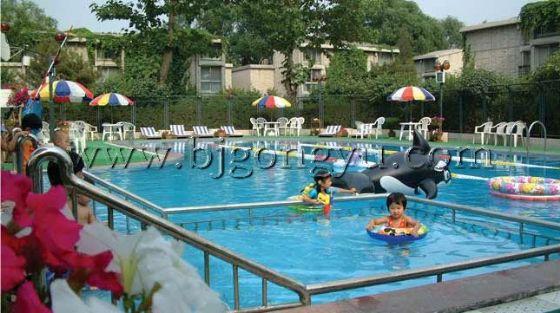 北京光明公寓泳池