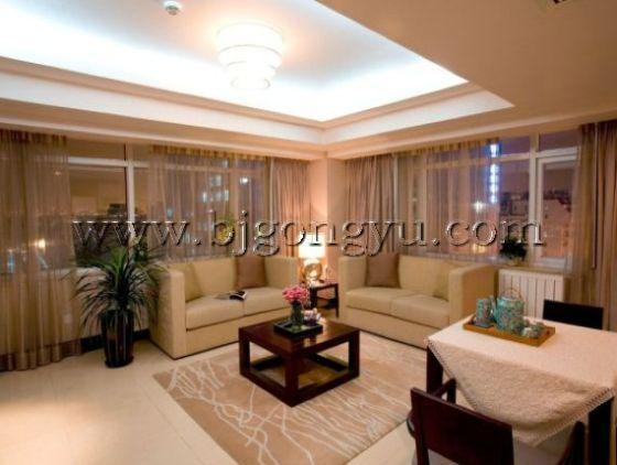 金融街服务式公寓客厅