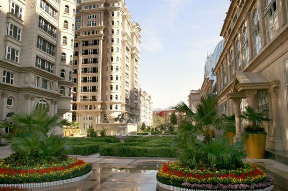 山水广场(山水铂宫)公寓外景