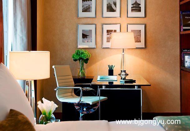 北京万豪行政公寓一居室办公区