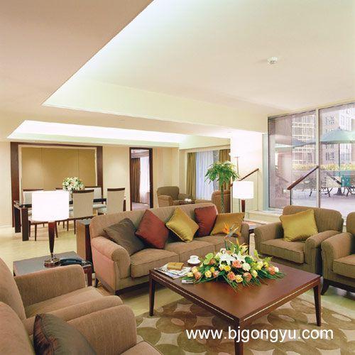北京东方广场(东方豪庭)公寓客厅