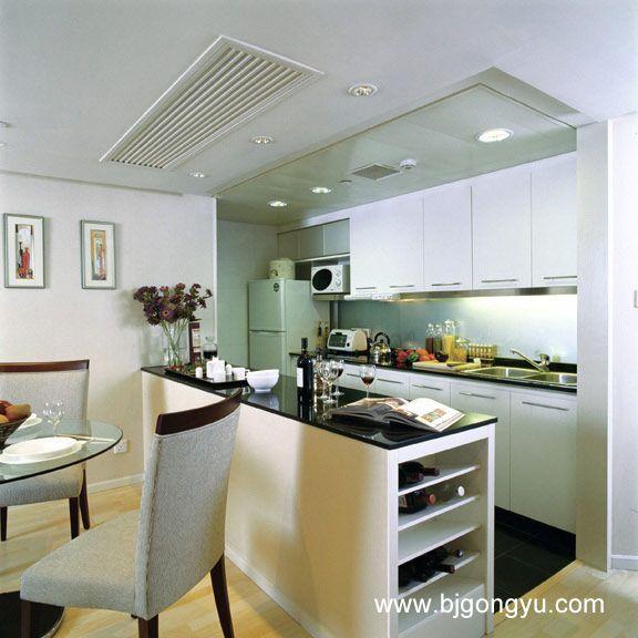 北京东方广场(东方豪庭)公寓开放式厨房