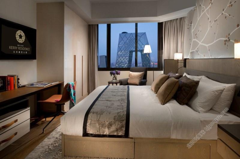 北京嘉里中心公寓2brd-bedroom