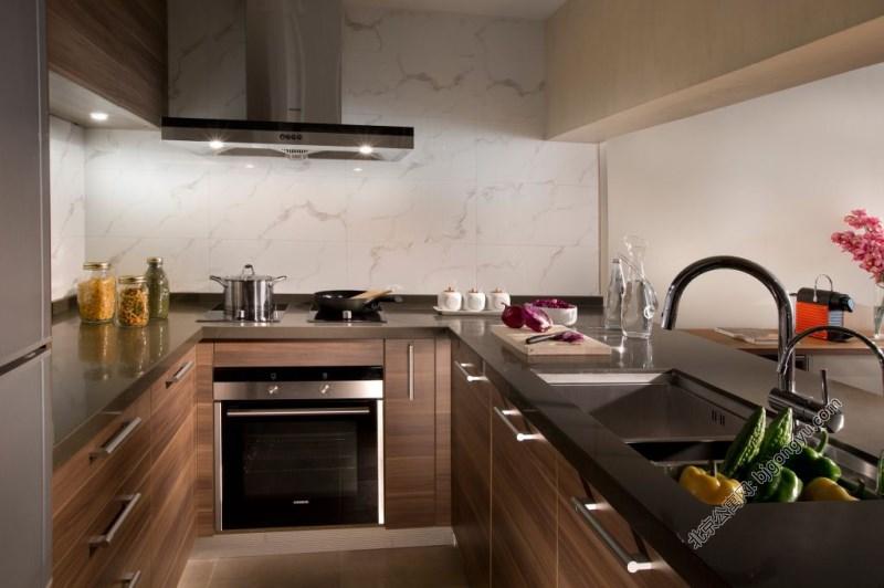 北京嘉里中心公寓2brd-kitchen