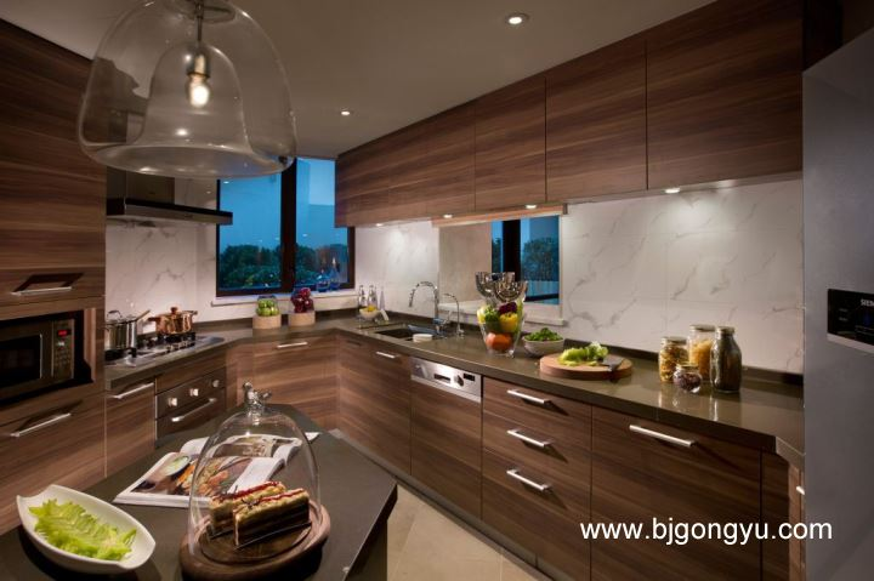 北京嘉里中心公寓3br-kitchen