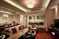北京财富中心千禧公寓外观图