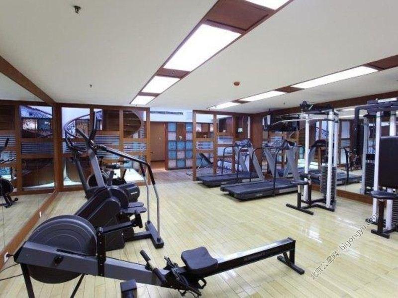 亚太大厦酒店式公寓健身房