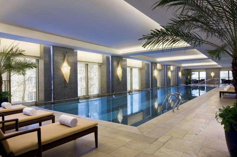 紫檀万豪行政公寓游泳池