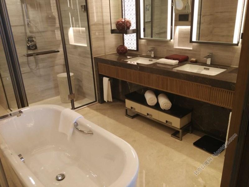 北京雅诗阁山水文园服务公寓浴室