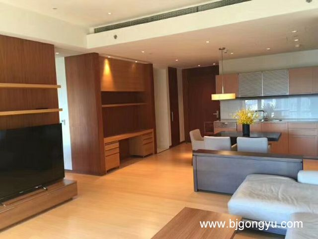 北京银泰中心(柏悦居/府)公寓起居室