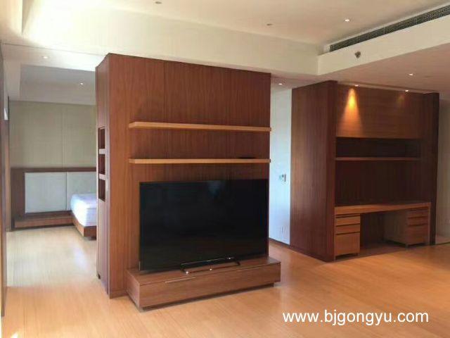 北京银泰中心(柏悦居/府)公寓电视墙
