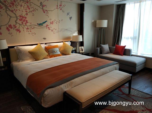 北京佳兆业铂域行政公寓卧室