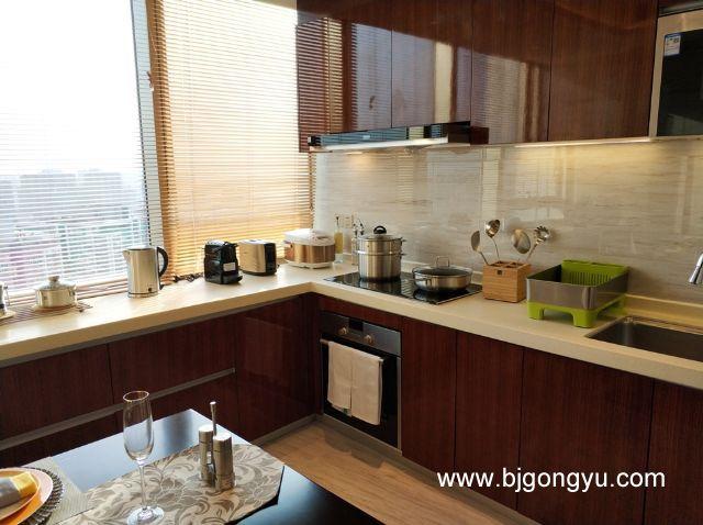 北京佳兆业铂域行政公寓厨房
