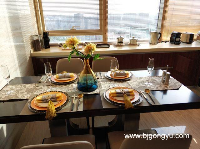 北京佳兆业铂域行政公寓餐桌