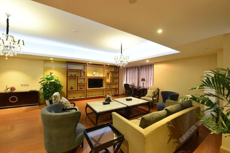 北京金泰丽湾公寓起居室