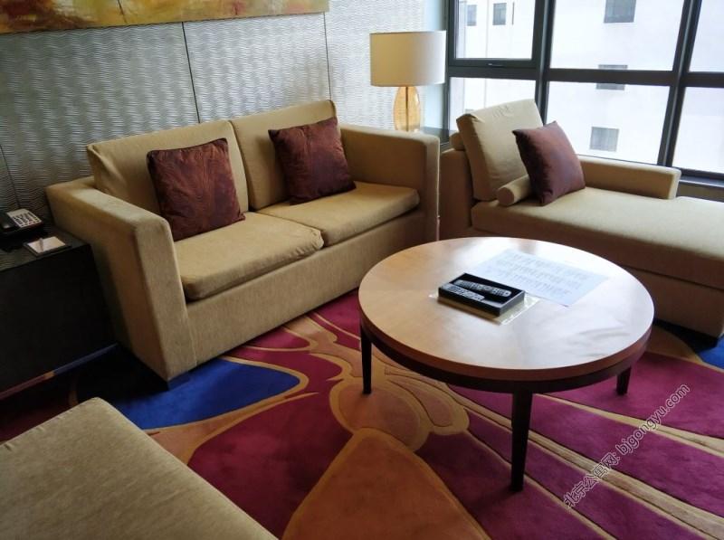 北京紫檀万豪行政公寓起居室