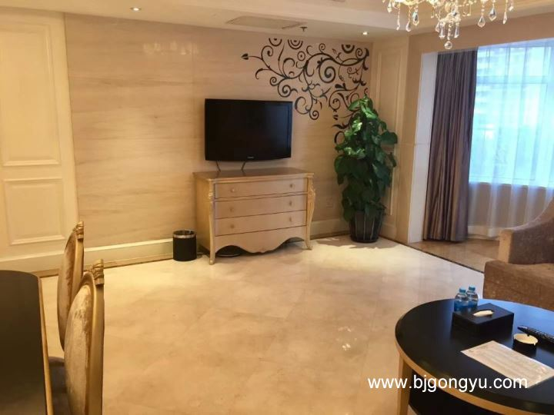 北京山水广场(铂宫)公寓山水广场实景图