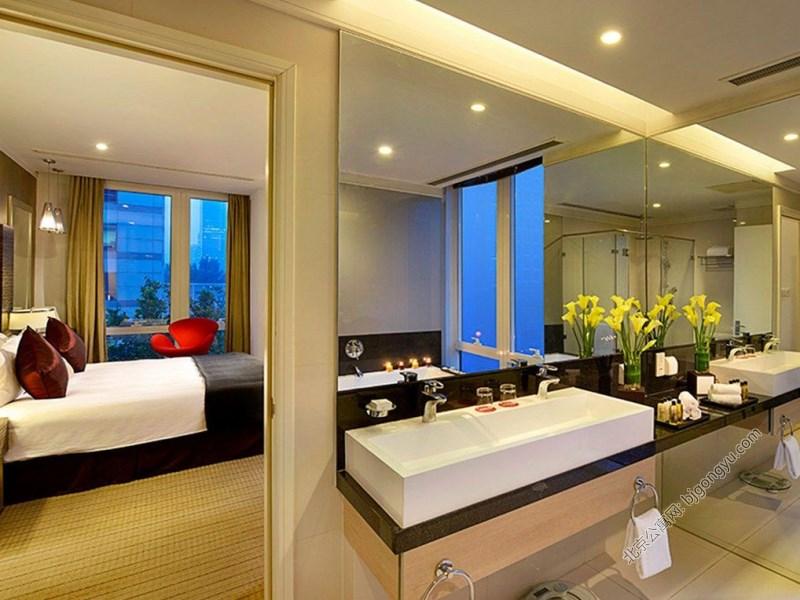 北京辉盛阁国际公寓室内实景图