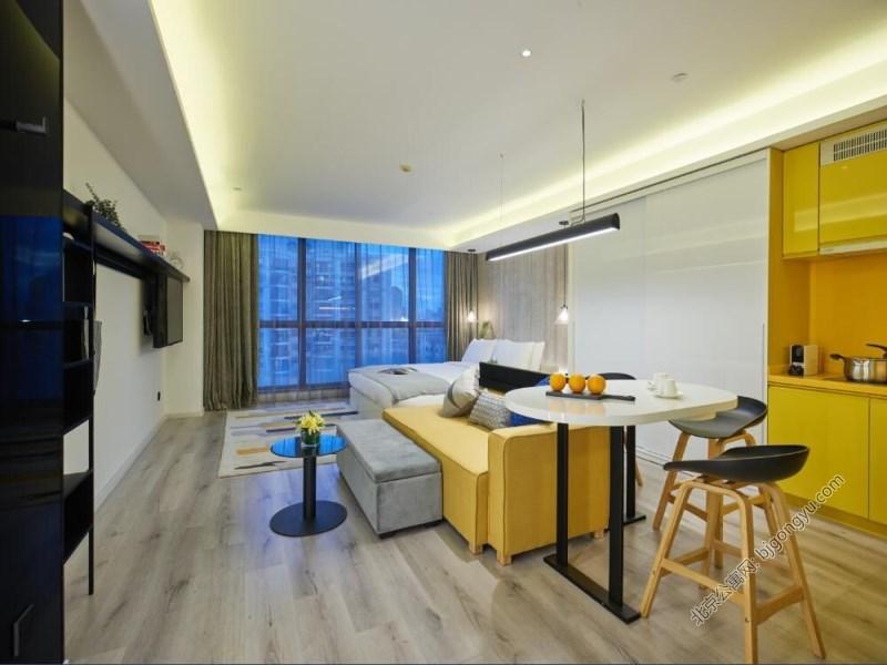 馨乐庭日坛服务公寓室内实景图