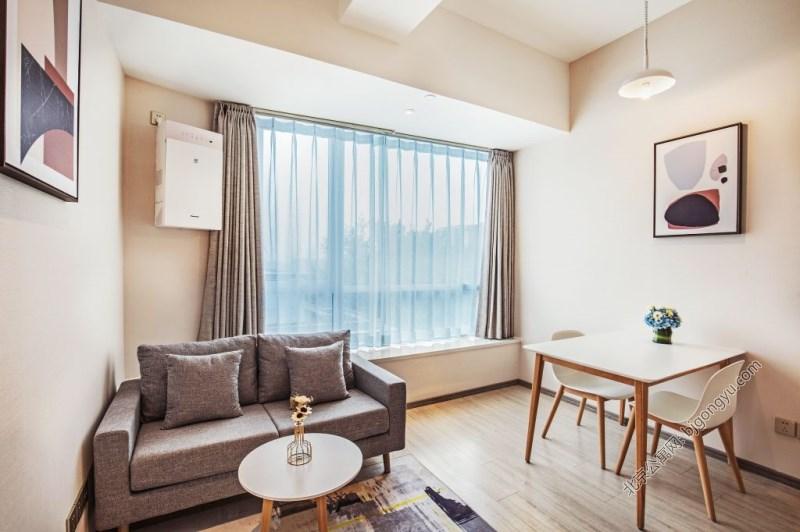 北京福庭酒店式公寓客厅