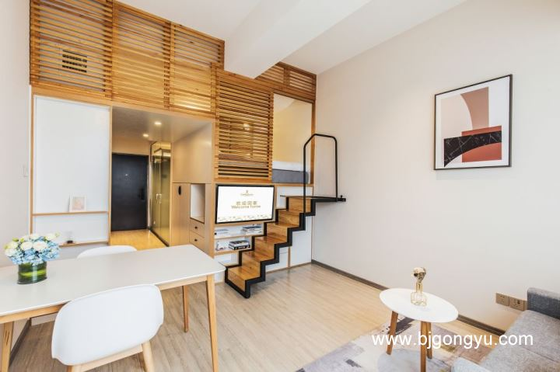 北京福庭酒店式公寓卧室