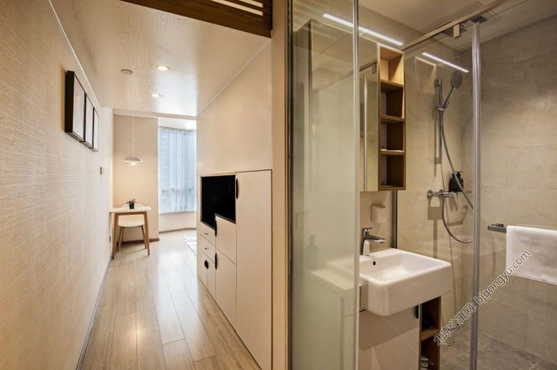 北京福庭酒店式公寓洗手间