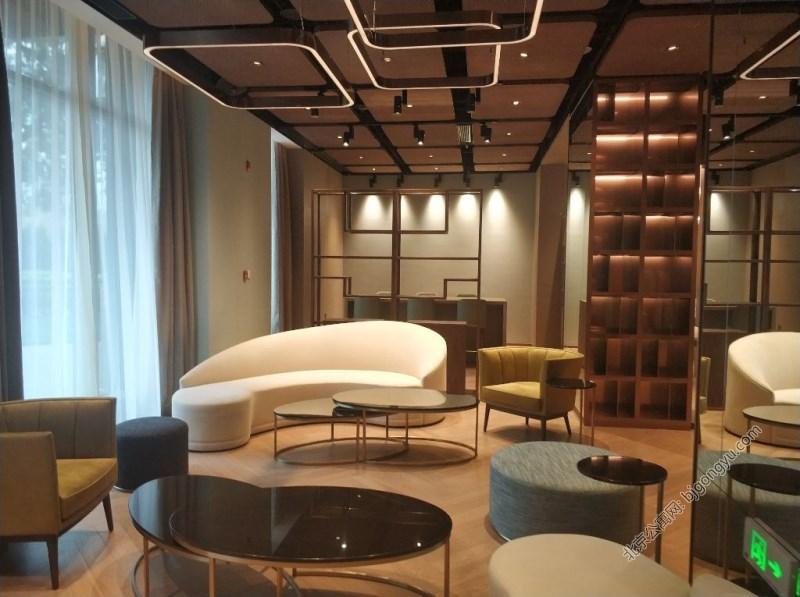 北京国贸公寓休息区