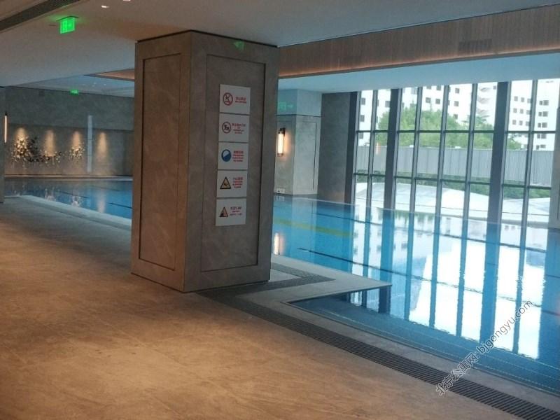 北京国贸公寓游泳池