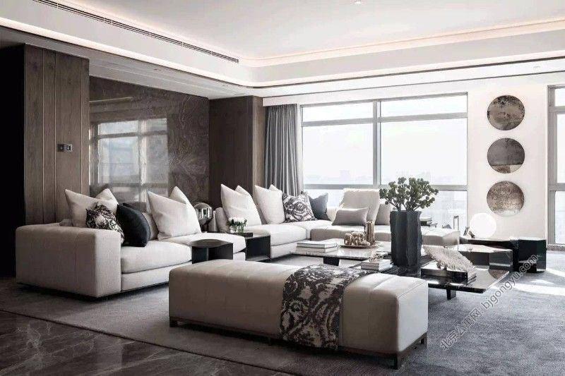 泰禾北京公馆酒店式公寓公共休息区