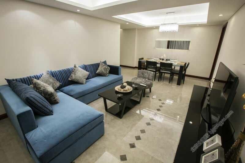 北京光耀公寓豪华起居室