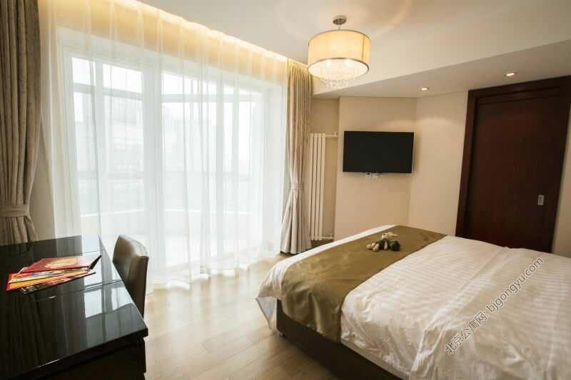 北京光耀公寓豪华卧室